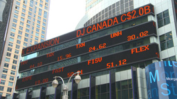 HD2008-8-19-10 stock ticker Times square Footage