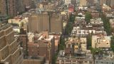 HD2008-8-19-20 City Scape Aerial stock footage