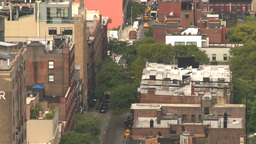 HD2008-8-19-24 city scape aerial Stock Video Footage