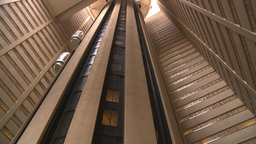 HD2008-8-19-26 TL indoor glass elevators Footage