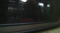 HD2008-8-19-28 NYC subway Stock Video Footage