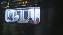 HD2008-8-19-30 NYC subway Stock Video Footage