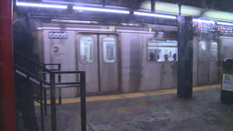 HD2008-8-19-34 NYC subway Stock Video Footage