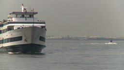 HD2008-8-19-42 ferry boat Footage