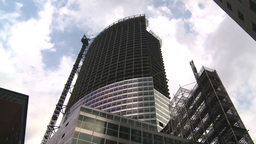 HD2008-8-19-48 NYC construction site Stock Video Footage