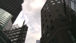 HD2008-8-19-50 NYC construction site spin Stock Video Footage