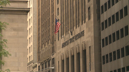 HD2008-8-19-56 NYC stock exchange Stock Video Footage