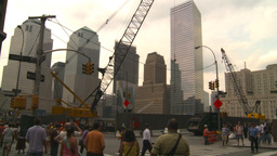 HD2008-8-19-58 WTC construction site Stock Video Footage