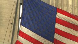 US flag Footage