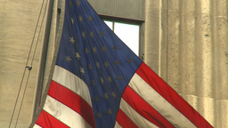 US flag Stock Video Footage