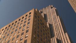 HD2008-8-18-15 NYC 30 rock snap pan Stock Video Footage