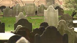 US cemetery Stock Video Footage