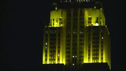 night building Stock Video Footage