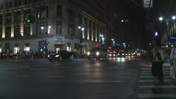 NYC night Stock Video Footage