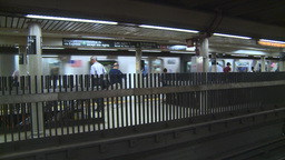 NYC subway stn Footage