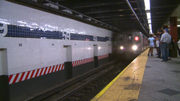NYC subway station Footage