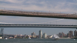 TL NYC bridges and boats Footage