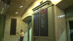 HD2008-8-24-11 Grand Central pan Stock Video Footage