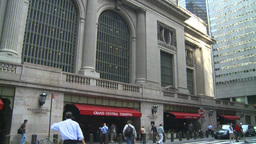 HD2008-8-24-13 Grand Central ext Stock Video Footage