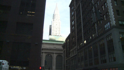 HD2008-8-24-17 Grand Central chrysler Stock Video Footage
