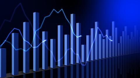 Graph 2 CDb HD Stock Video Footage