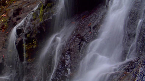 time lapse thai waterfall close loop Footage
