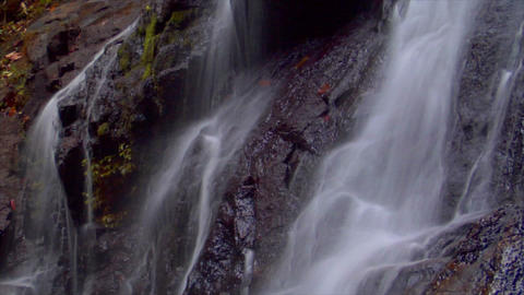 time lapse thai waterfall close loop Stock Video Footage