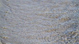 Waves Washing On The Beach Stock Video Footage
