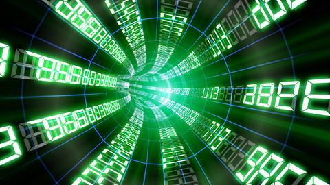 Data tunnel Cc HD Stock Video Footage