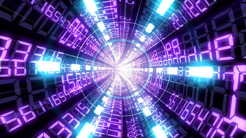 Data tunnel Bb HD Stock Video Footage