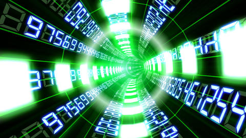 Data tunnel Gb HD Animation