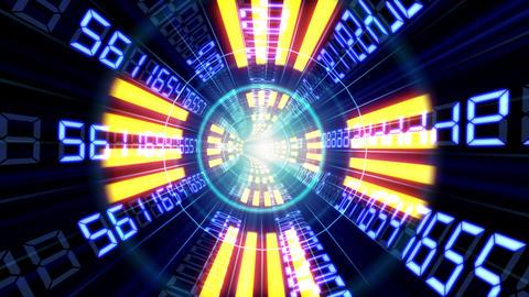 Data tunnel Ha HD Stock Video Footage