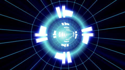 Data tunnel Hc HD Stock Video Footage