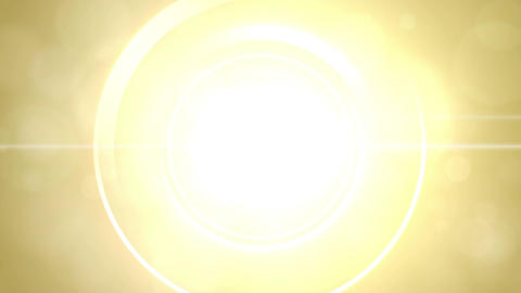 Opening intro Flash light flare W 1 yellow 4k Animation