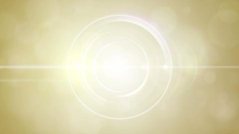 Opening intro Flash light flare W 1 yellow Short 4 Animation