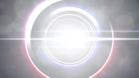 Opening intro Flash light flare W 2 white 4k Animation