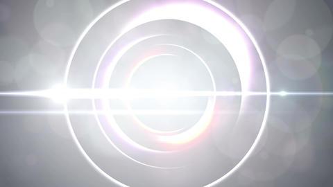 Opening intro Flash light flare W 2 white Short 4k Animation