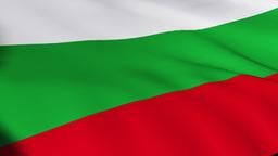 Bulgarian Flag Footage