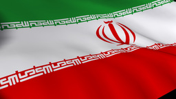 Flag of Iran Footage