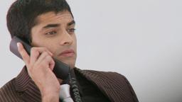Latinamerican Businessman working on his phone Footage