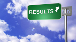 Signpost showing the Results Way Live Action