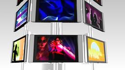 DANCING MONITORS Animation