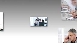 Business Women At Work In HD Video stock footage