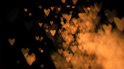 Heartshaped sparks flying in super slow motion Footage