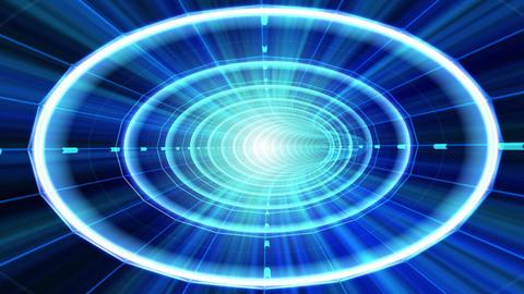 Data Tunnel 2 Ba HD Stock Video Footage