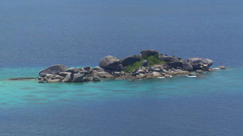 Similan Islands Thailand Beach Stock Video Footage