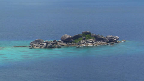 Similan Islands Thailand Beach Footage