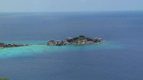 Similan Islands Thailand Beach Stock Video Footage