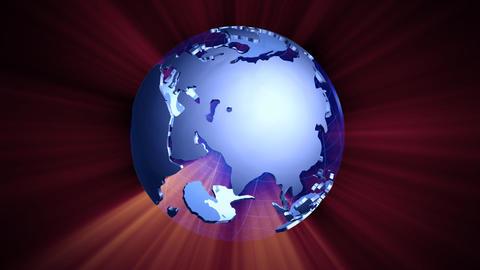 Earth CG1 Stock Video Footage