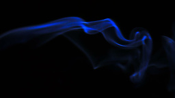 Blue smoke Stock Video Footage